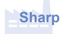 Sharp Herstellerlabel